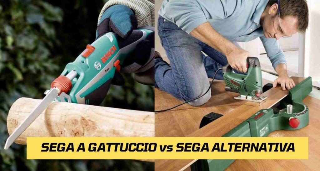 Differenza Tra Seghetto a gattuccio e Sega Alternativa