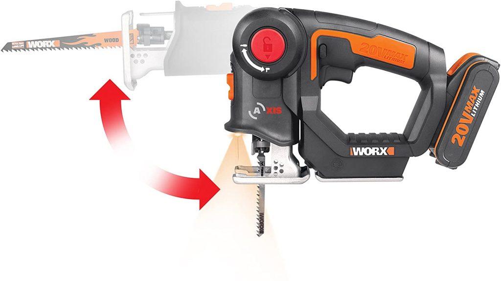 Worx WX550  Seghetto alternativo COMBINATO